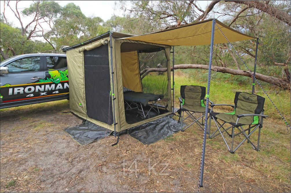 Палатка к тенту с удлинителем + пол. Размер 2.5 метра X 2.5 метра - IRONMAN 4X4