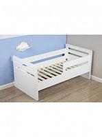 Кровать подростковая Wooden bed -4 Белый