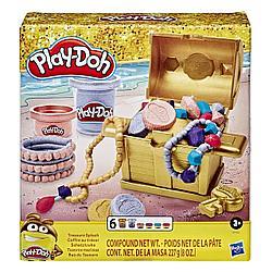 Hasbro Play-Doh Игровой набор пластилина Сундук сокровищ, Плей-До