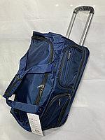"""Дорожная сумка на колесах, среднего размера"""" Cantlor"""". Высота 35 см, ширина 56 см, глубина 29 см., фото 1"""