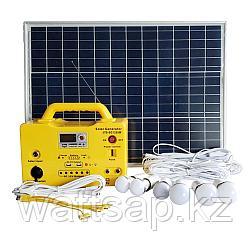 Солнечная электростанция с разъемом для подключения TV, 6 LED в комплекте SG1250W