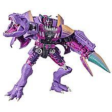 "Hasbro Трансформеры ""Война за Кибертрон: Класс Лидер"" - Ти-Рекс Мегатрон, Королевство"