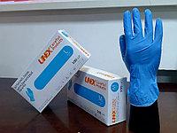 Перчатки нитровиниловые смотровые