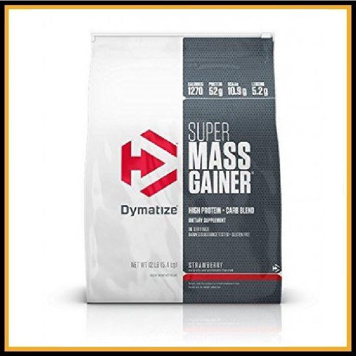 Dymatize Super Mass Gainer 5,4 кг (ваниль) Срок годности до конца Июля 2021года!!!