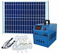 Солнечная электростанция SPS1220, 3 LED лампы в комплекте, аккумулятор 20 Ач, фото 1