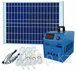 Солнечная электростанция SPS1220, 3 LED лампы в комплекте, аккумулятор 20 Ач