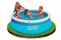 Надувной бассейн Intex 28101, 183х51см Каркасный Детский