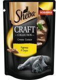 Sheba Craft 75 гр кусочки с курицей в соусе Влажный корм для кошек