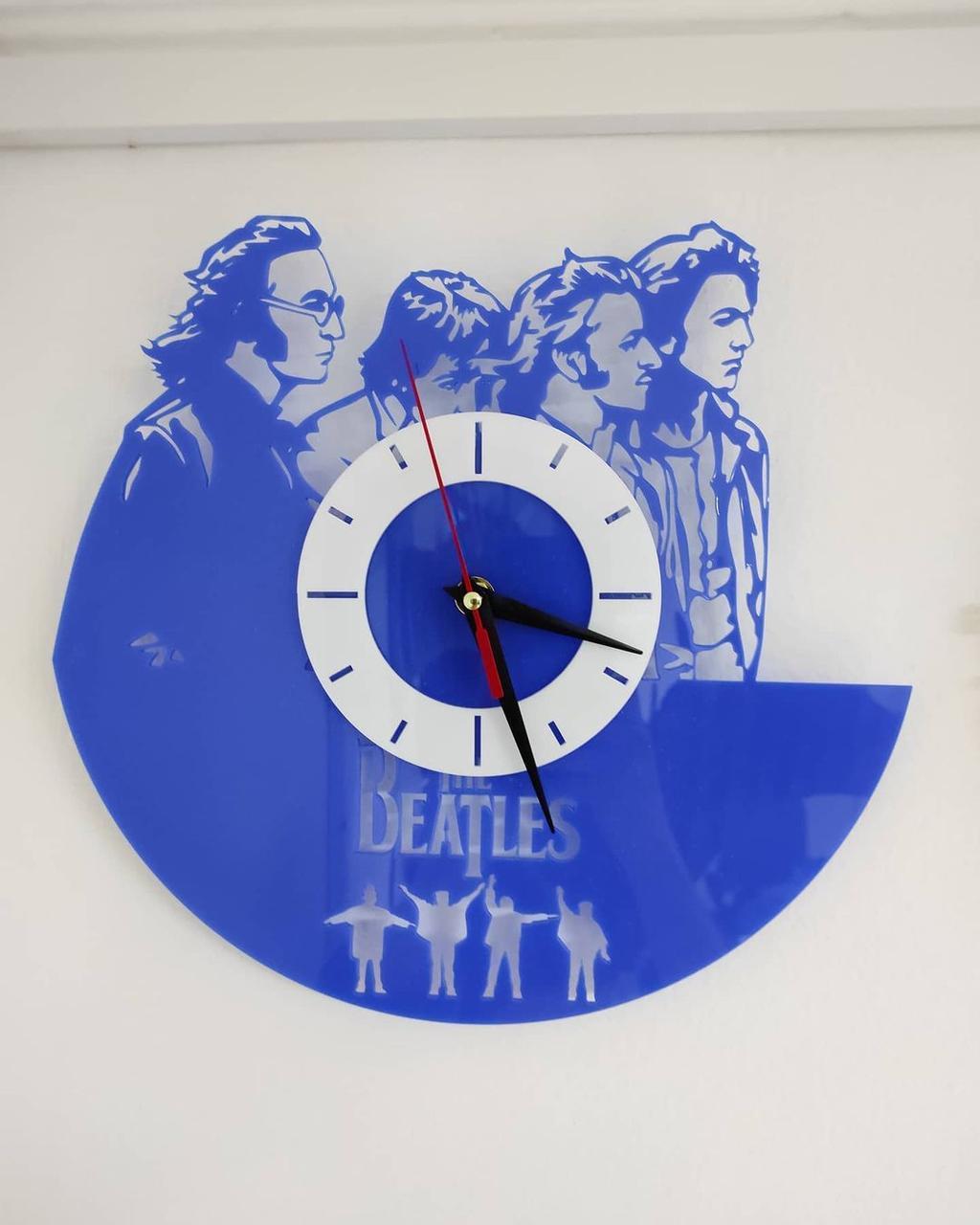 Дизайнерские настенные часы The Beatles
