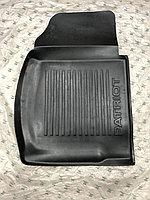 Коврик пола передний правый  (резиновый) УАЗ Патриот до 2014 года выпуска, фото 1