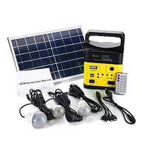 Солнечная электростанция SDM-3790, 3 LED лампы в комплекте, аккумулятор 9 Ач, фото 1