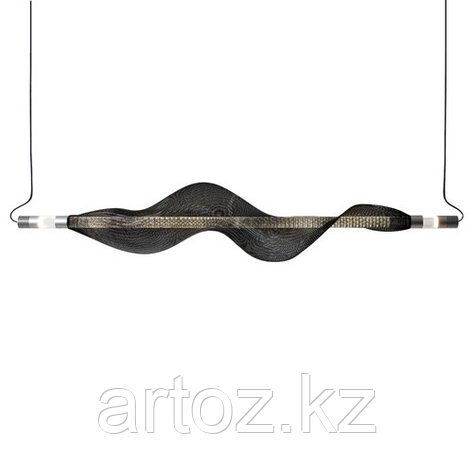 Светильник подвесной VAPOUR horizontal (black), фото 2