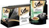 Sheba Pleasure 24шт. по 85г Курица с кроликом, консервы для кошек