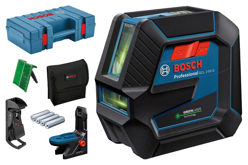 Лазерный уровень Bosch GCL 2-50 G + DK 10