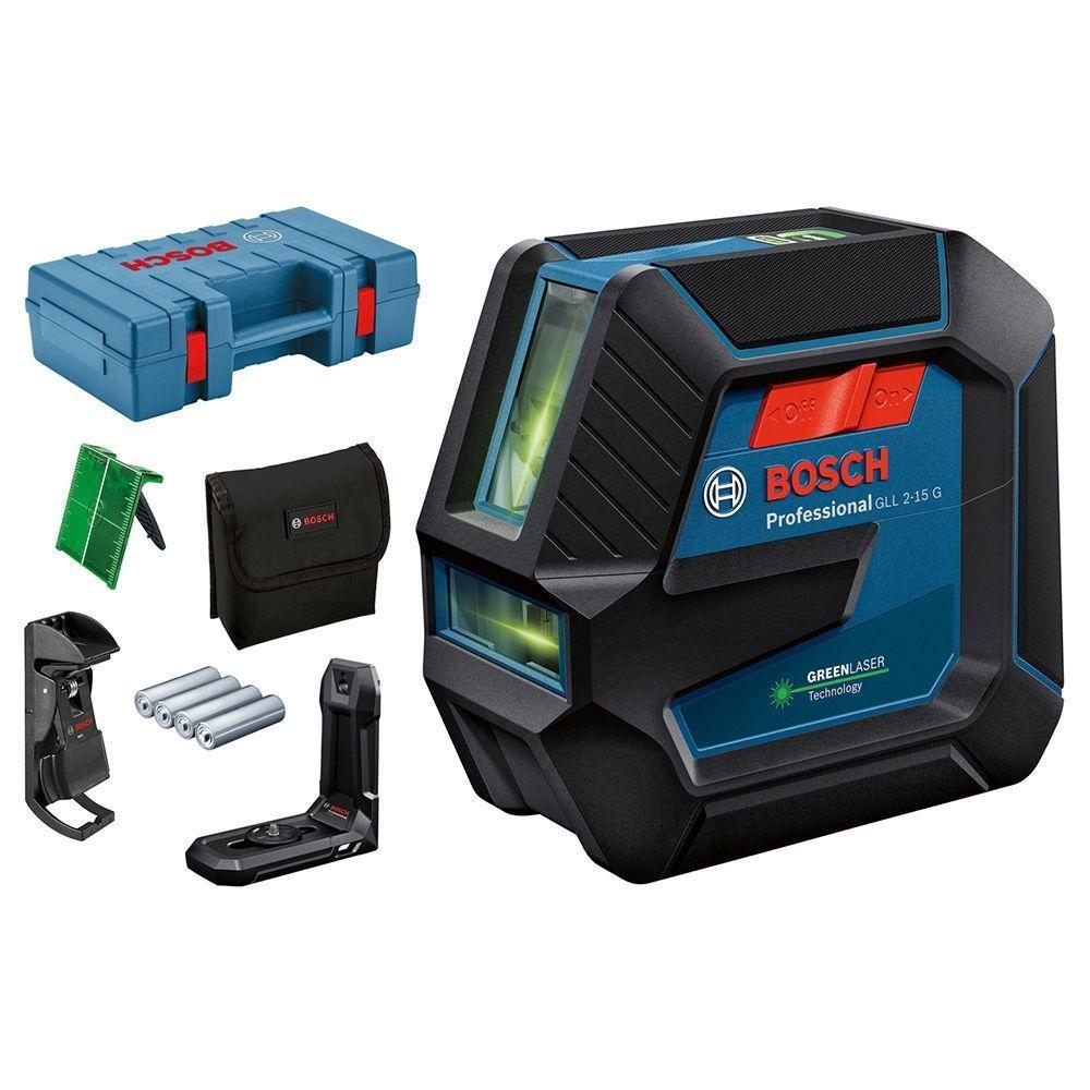 Лазерный уровень Bosch GLL 2-15 G + DK 10