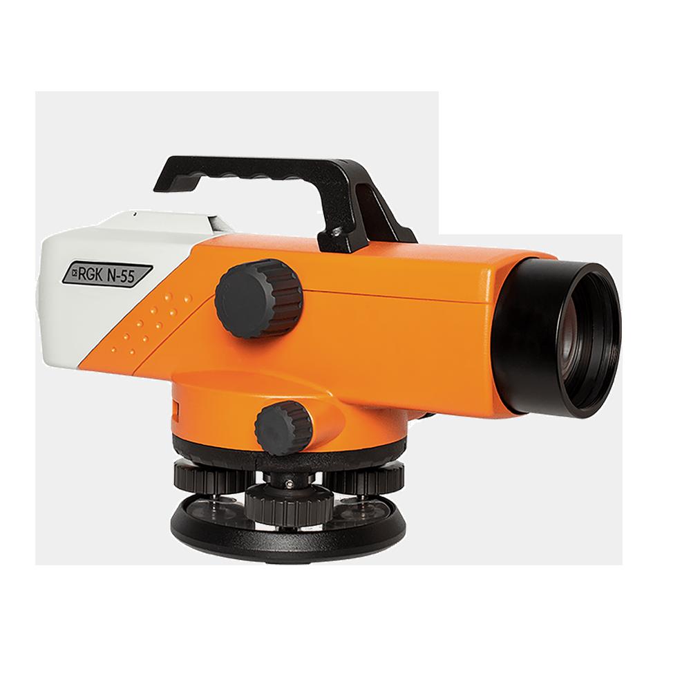Оптический нивелир RGK N-55 с поверкой