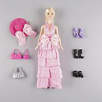 Sariel: Кукла в вечернем розовом платье с аксессуарами