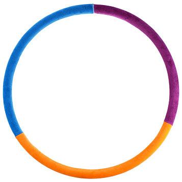 Обруч утяжеленный «Идеальный силуэт», d=85 см, 1,9 кг, цвета МИКС