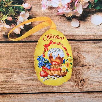 Пасхальный сувенир на ленте «Пасхальная композиция», 6 × 8 см