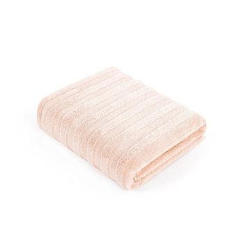 Полотенце Stripe, размер 70 × 140 см, махра, цвет нежно - персиковый