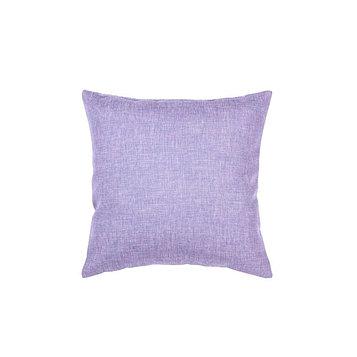 Подушка декоративная, размер 40 × 40 см, рогожка, цвет лавандовый