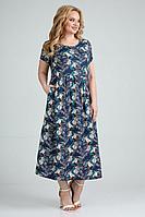 Женское летнее из вискозы большого размера платье Jurimex 2522 54р.