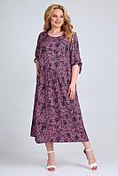 Женское летнее из вискозы большого размера платье Jurimex 2523 58р.