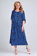 Женское летнее из вискозы большого размера платье Jurimex 2523-2 58р.