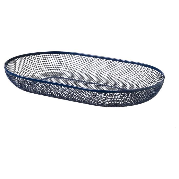 Сервировочная корзина НЭТВЭРК, цвет синий