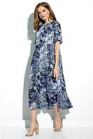 Женское летнее из вискозы платье Gizart 5066-4 44р.