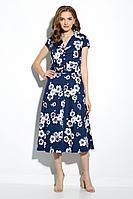 Женское летнее хлопковое платье Gizart 7212-2 44р.