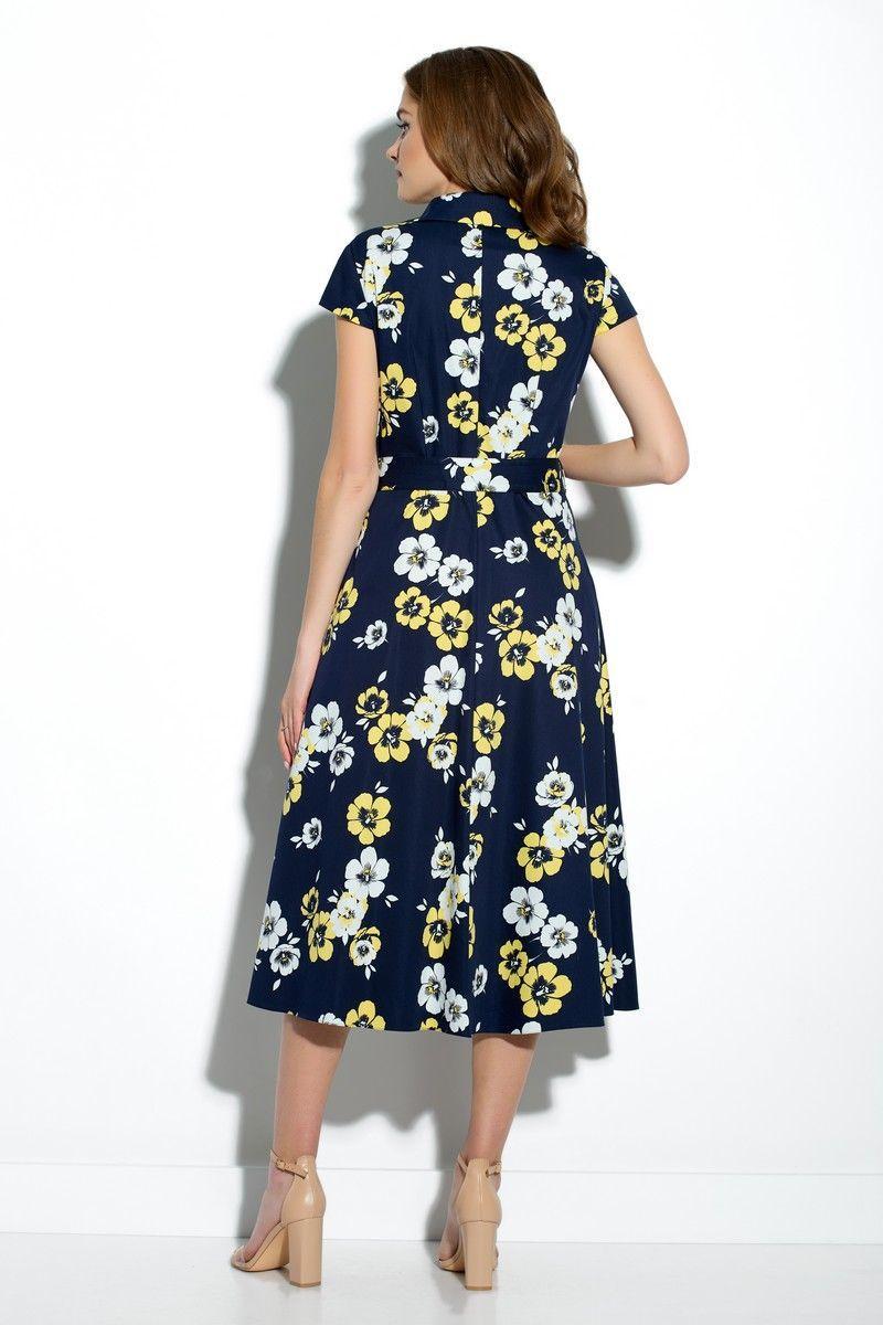 Женское летнее хлопковое платье Gizart 7212-3 44р. - фото 2