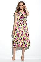 Женское летнее хлопковое платье Gizart 7212-4 44р.