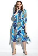 Женское летнее шифоновое платье Gizart 7348-1бир 46р.