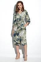 Женское летнее из вискозы платье Gizart 7506ол 46р.
