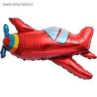 """Шар фольгированный 38"""" «Самолёт», фигура"""