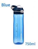 Бутылка для воды 750 мл белый/синий Naturehike NH20SJ027, фото 1