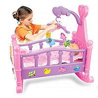 """PITUSO Набор """"Пупс (35 см) +кроватка для кукол"""" (53*31*50см) (в кор.12 шт.)"""