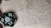 Кубик D20  с логотипом сетов MTG : цвет зелено-черный