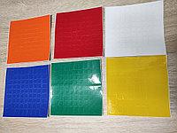 Наклейки 9х9 для кубика рубика