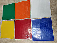 Наклейки для кубика-рубика 10х10х10