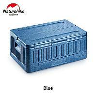 Складной бокс для хранения серый/синий Naturehike NH20SJ033, фото 1