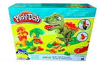 """Набор для лепки, пластилин """"Веселый динозавр"""""""