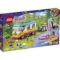 LEGO Friends Лесной дом на колесах и парусная лодка