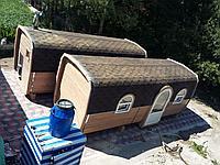 Баня-дача из кедра д*ш: 6*6 м. / Квадратная