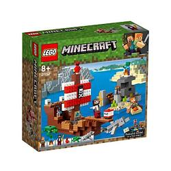 LEGO Minecraft Приключения на пиратском корабле