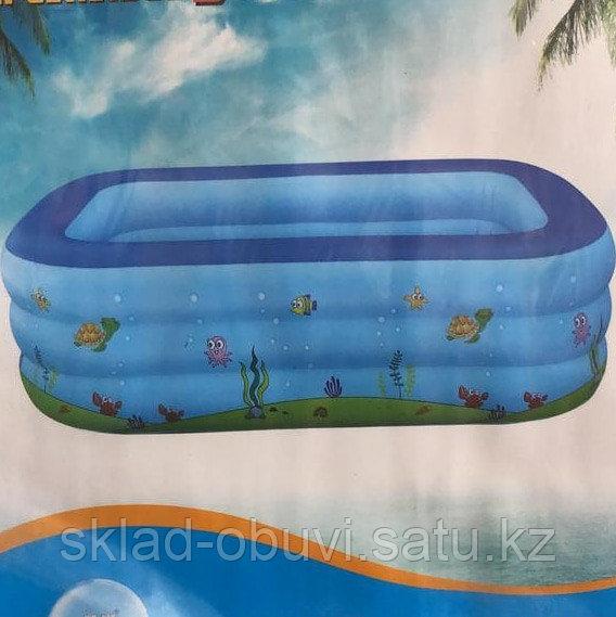 Бассейн надувной детский - фото 3