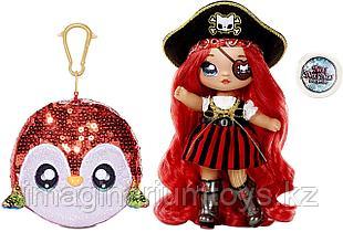 Na! Na! Na! Surprise кукла с сумочкой-помпоном Sparkle серия Пират