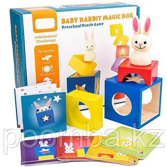 Развивающая игрушка baby rabbit magic box 6675