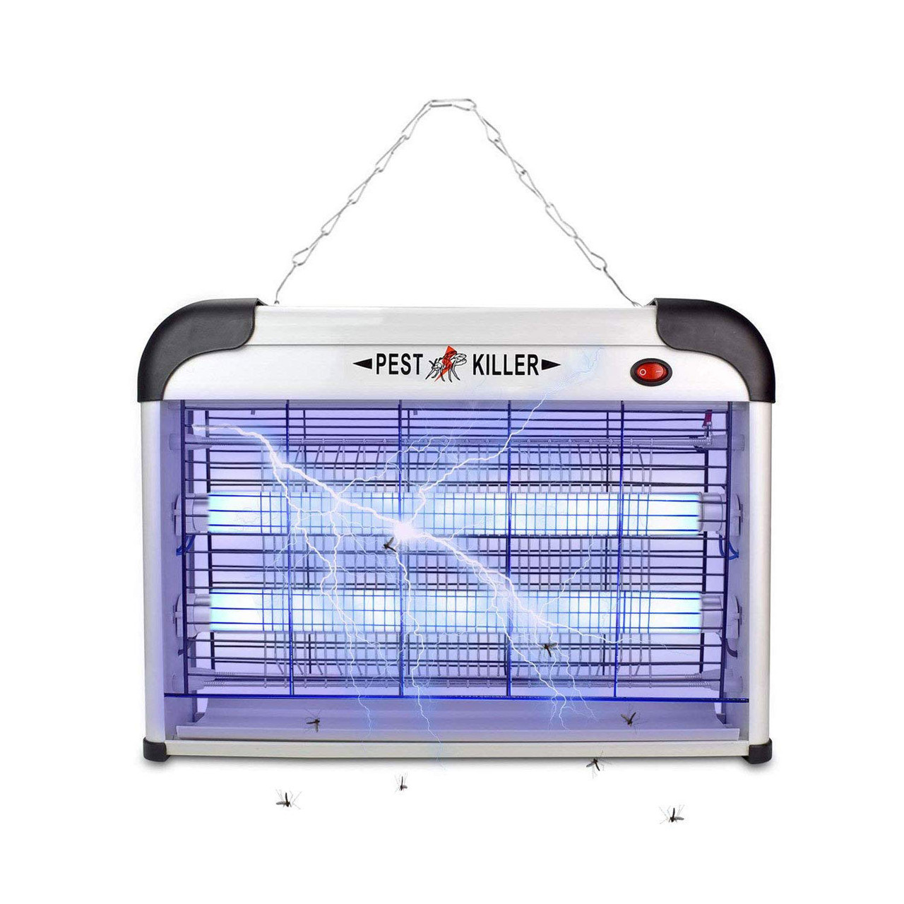 Ловушка комаров - электрическая ловушка для насекомых 20W инсектицидная лампа уничтожитель мухоловка KILL Pest